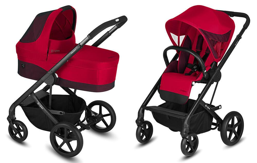 Cybex Balios S 2 в 1, для новорожденных Детская коляска Cybex Balios S 2 в 1 FE Ferrari Racing Red cybex-baliuos-s-2-in-1-fe-ferrari-racing-red.jpg