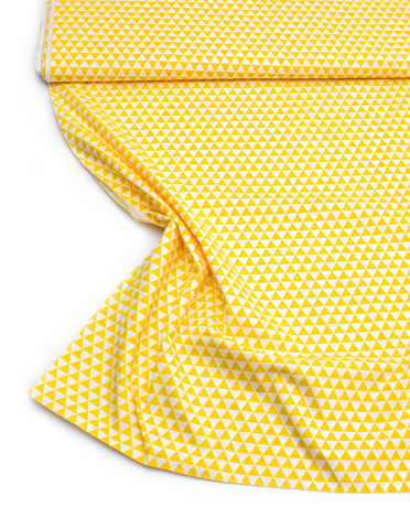 Треугольники желтые