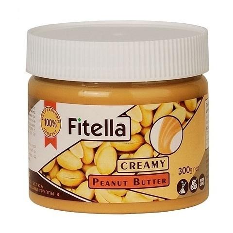 Паста Fitella арахисовая кремовая 300г