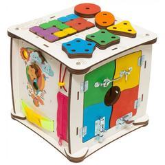 Кубик Знайка Семицвет Миди 25X25 см со светом