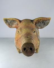 Скульптура из шамотной глины «Земляной кабан», Falco Ceramic