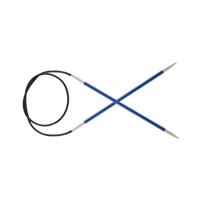Спицы KnitPro Zing круговые 4 мм/40 см 47069
