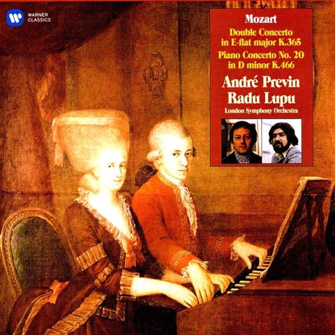 Andre Previn, Radu Lupu, London Symphony Orchestra / Mozart: Double Concerto, Piano Concerto No.20 (2LP)
