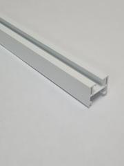 Верхняя направляющая для двери-гармошка, длина 260 см, цвет белый