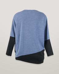 Блузка Bemar 0092 джинс