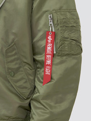 Бомбер Alpha Industries L-2B Natus Sage Green (Зеленый)