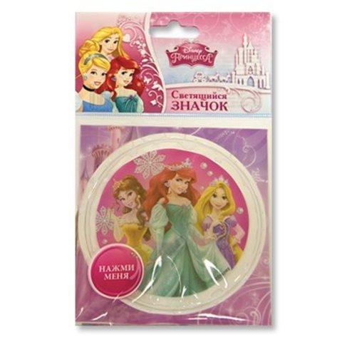 Значок Disney Принцессы светодиодный/G