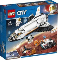 Lego konstruktor City Space Port  Шаттл для исследований Марса