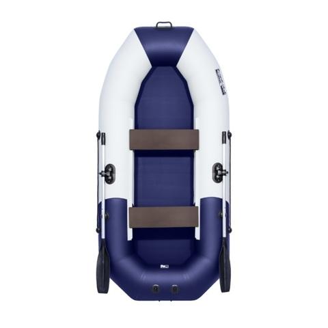 Лодка ПВХ Таймень NX 270 светло-серый/синий