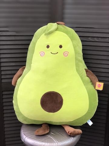 Мягкая игрушка авокадо 65 см #11963