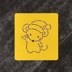 Мышка №28 в шапочке