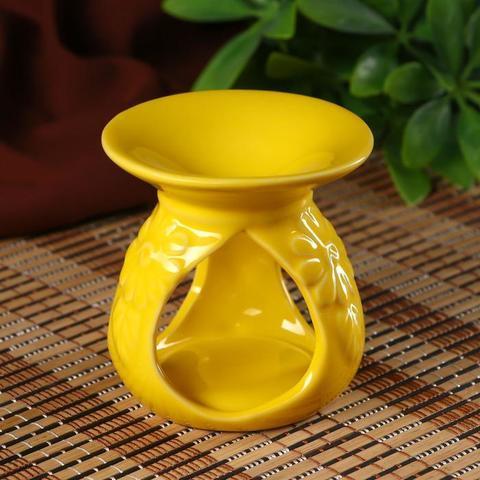 Аромалампа Цветок пустыни, керамика 8,5*8*8 см