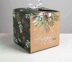 Коробка складная «Волшебство», 18 × 18 × 18 см, 1 шт.