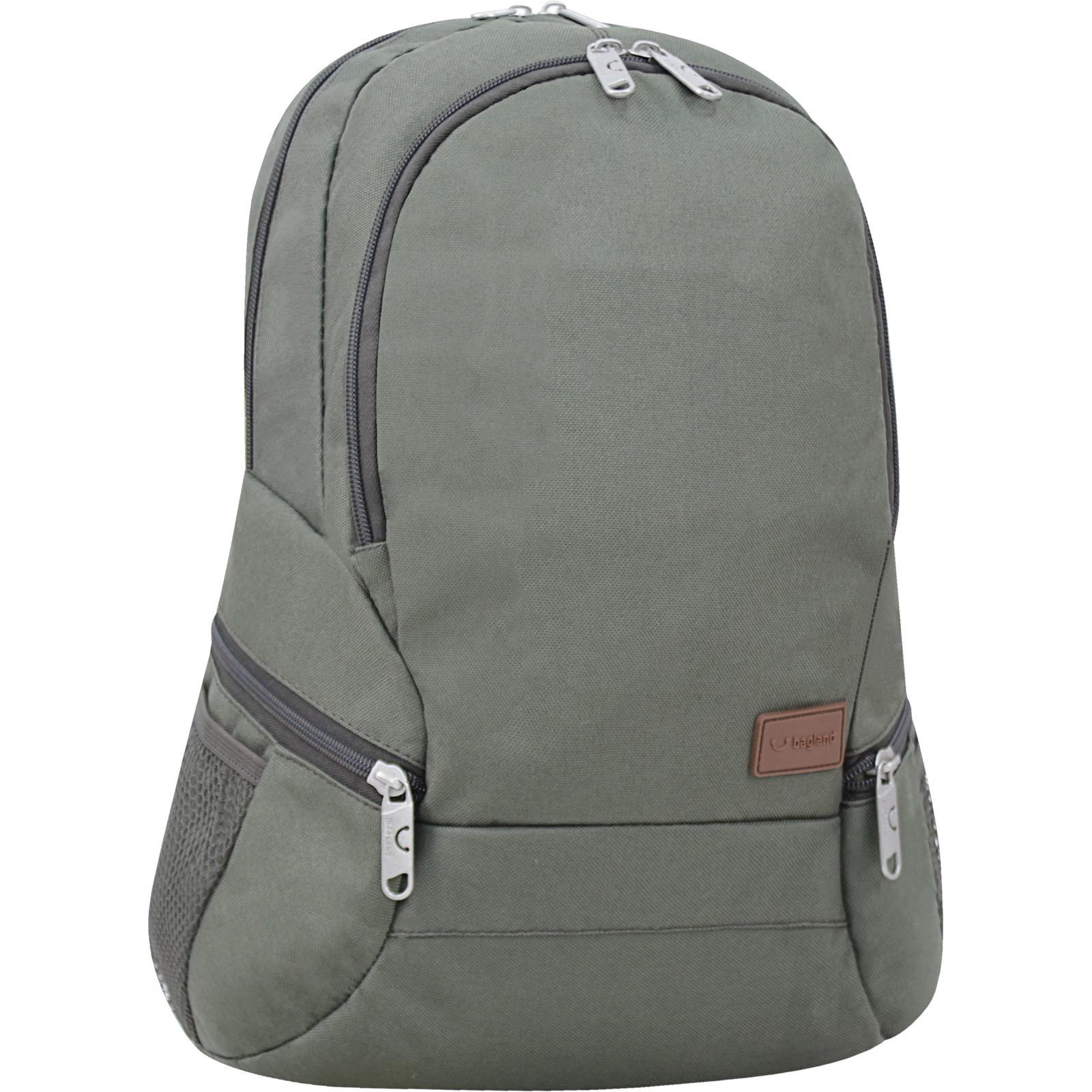 Городские рюкзаки Рюкзак Bagland Urban 20 л. Хаки (0053066) IMG_6770-1600.jpg