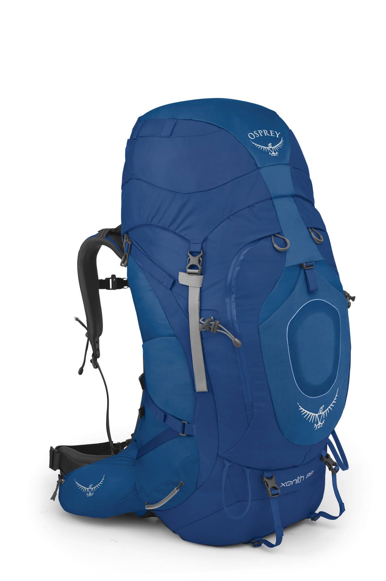 Туристические рюкзаки Рюкзак туристический Osprey Xenith 88 Xenith_88_Side_Miditerranean_Blue_web.jpg