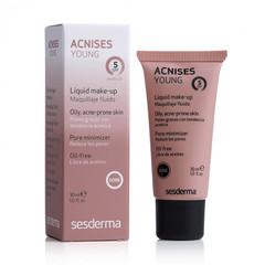 SESDERMA ACNISES YOUNG Liquid make up SPF 5 (dore) – Крем тональный жидкий с СЗФ 5 (Темный тон), 30 мл