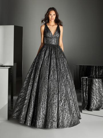 Вечернее платье бальное с пышной юбкой