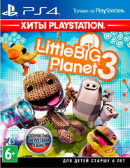 LittleBigPlanet 3 (PS4, Хиты PlayStation, русская версия)