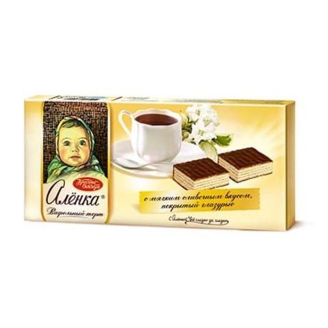 Торт Алёнка вафельный, Красный Октябрь, 250 гр.