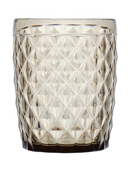 Water Glass Diamond, Smoke 6 UN