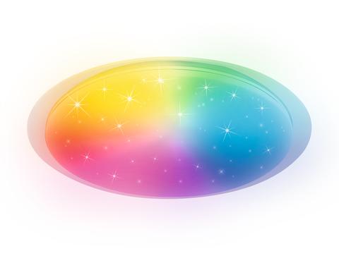 Светодиодный светильник Ambrella FF470 WH 60W Белый c подсветкой RGB