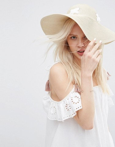 ASOS Eyelet Thread Hat