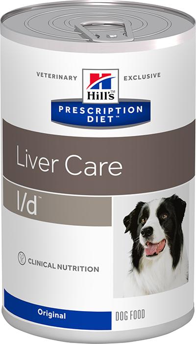 Влажные корма Ветеринарный корм для собак Hill`s Prescription Diet l/d Liver Care, при заболеваниях печени лд.png