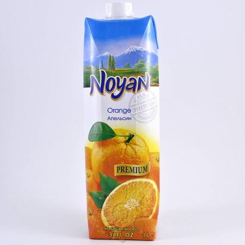 Сок апельсиновый с мякотью без сахара Noyan, 1л
