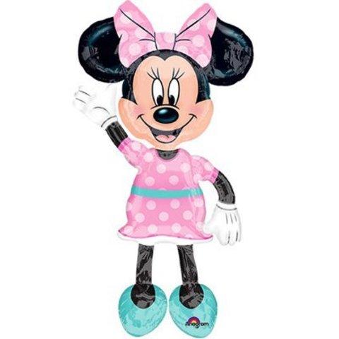 А ХОД/P80 Минни платье розовое в горошек