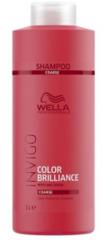 WELLA INVIGO COLOR BRILLIANCE Шампунь для защиты цвета окрашенных жестких волос 1000 мл