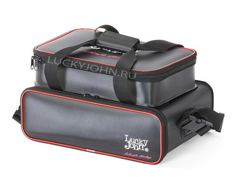 Сумка рыболовная с коробками Lucky John EVA Lure Bag 019