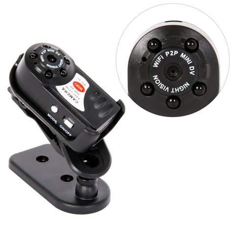 Мини камера регистратор Q7N Wi-Fi, IP