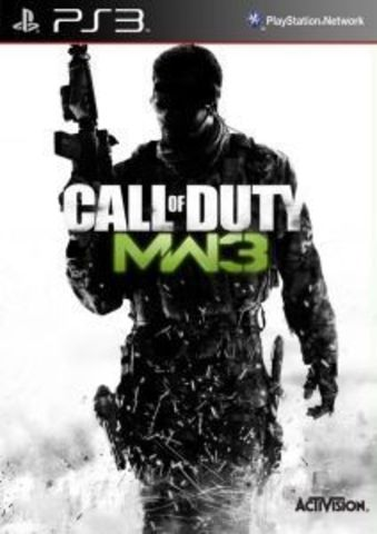 Call Of Duty: Modern Warfare 3 (PS3, английская версия)
