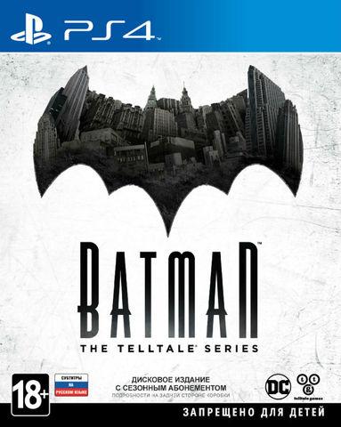 Batman: The Telltale Series (PS4, русские  субтитры)