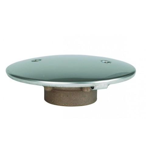 Донный слив диаметр 168 из RG-бронза с антивихревой крышкой AISI-316 внутреннее подключение 2
