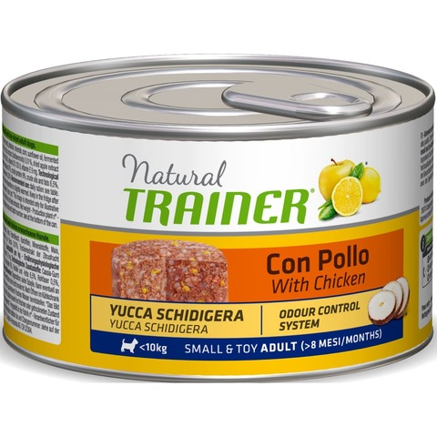 Trainer Natural Dog Adult Small & Toy Adult - With Chicken, 1800 г.
