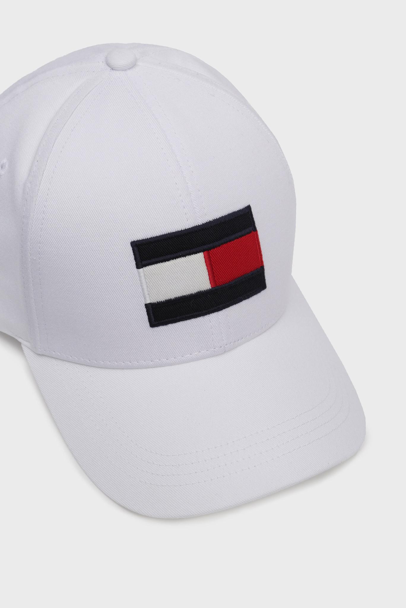 Мужская белая кепка BIG FLAG Tommy Hilfiger