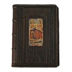 Ежедневник кожаный в стиле 19 века модель 44