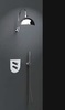 Встраиваемый термостатический смеситель для душа TZAR 348712SNC никель, на 2 выхода - фото №2