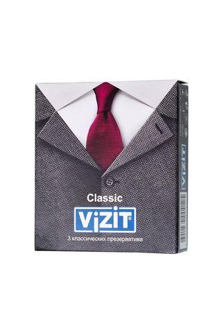 Классические презервативы VIZIT Classic - 3 шт.