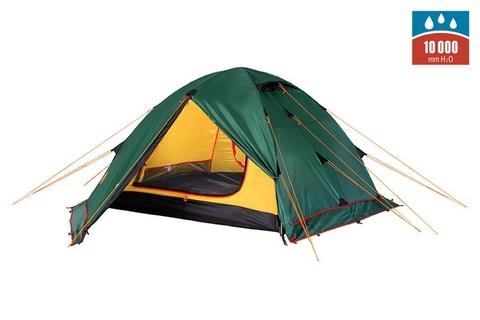 Картинка палатка туристическая Alexika RONDO 3 Plus green, 390x215x115  - 1