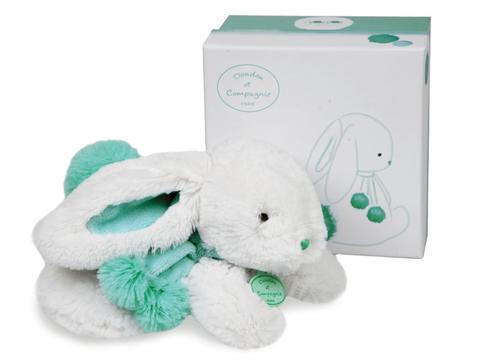 Doudou et Compagnie. Pompon MM rabbit almond 25cm