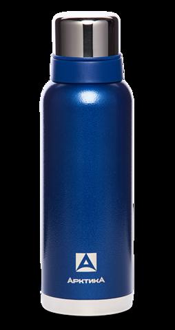 Термос Арктика (1,2 литра) с узким горлом американский дизайн, синий