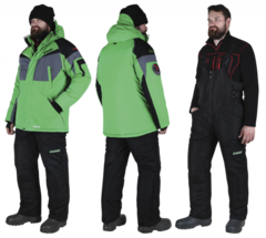 Костюм зимний Alaskan Dakota зеленый/черный раз. XXXL