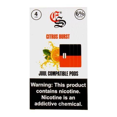 Eon Smoke 4 картриджа (для JUUL) Citrus Burst