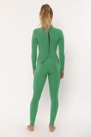 7 Seas 3/2 Back Zip Full Suit Camp Green