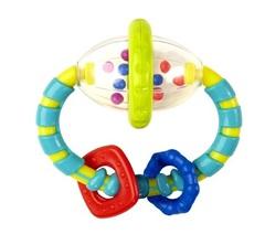 Bright Starts Развивающая игрушка-прорезыватель Эллипс (гремит) (8533)