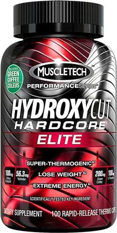 Жиросжигатель MuscleTech Hydroxycut Hardcore Elite