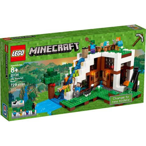 LEGO Minecraft: База на водопаде 21134 — The Waterfall Base — Лего Майнкрафт
