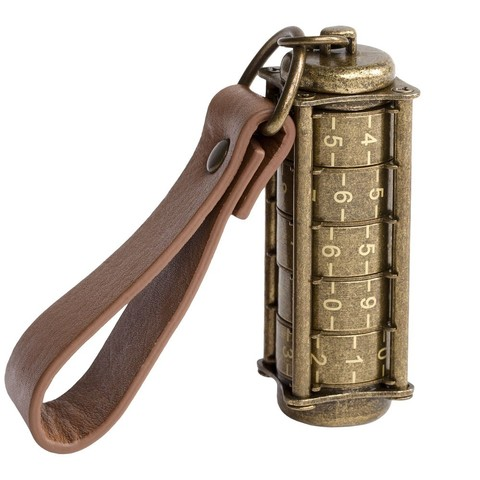 Cryptex, Antique Gold USB flash drive